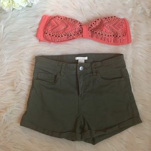 H&M high wasted shorts.
